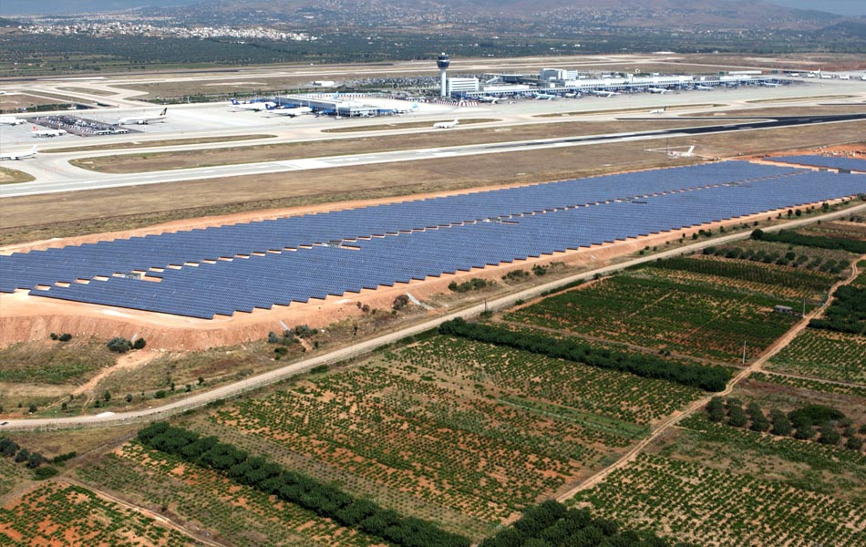 Το αεροδρόμιο της Αθήνας είναι «πράσινο»