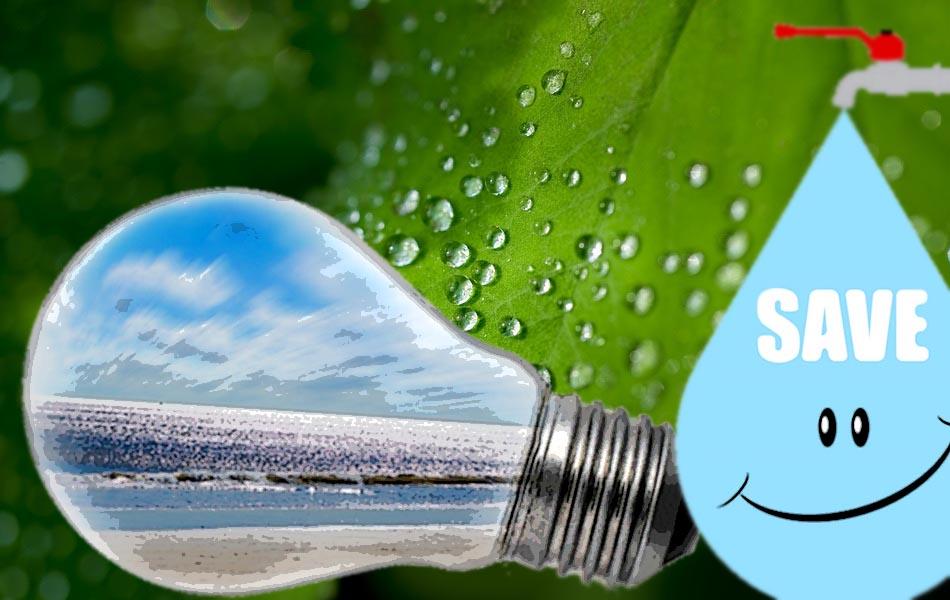 Σώστε νερό. Σώστε χρήματα. Υποστηρίξτε τον οικοτουρισμό.