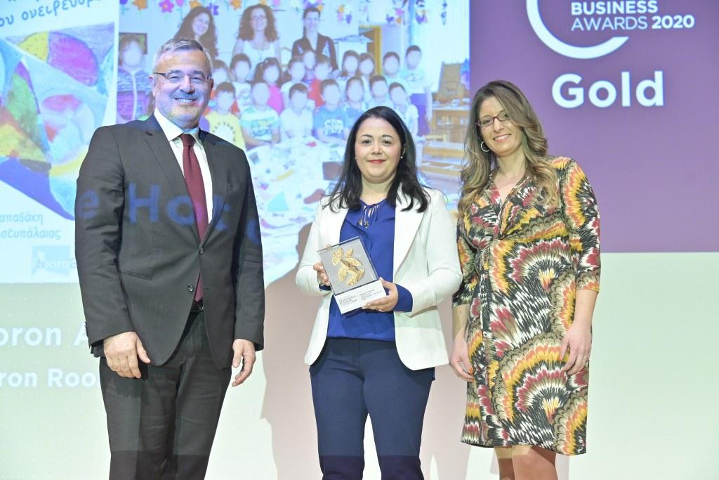 Συγχαρητήρια στο ξενοδοχείο Kallichoron για το χρυσό βραβείο υπεύθυνης επιχειρηματικότητας!