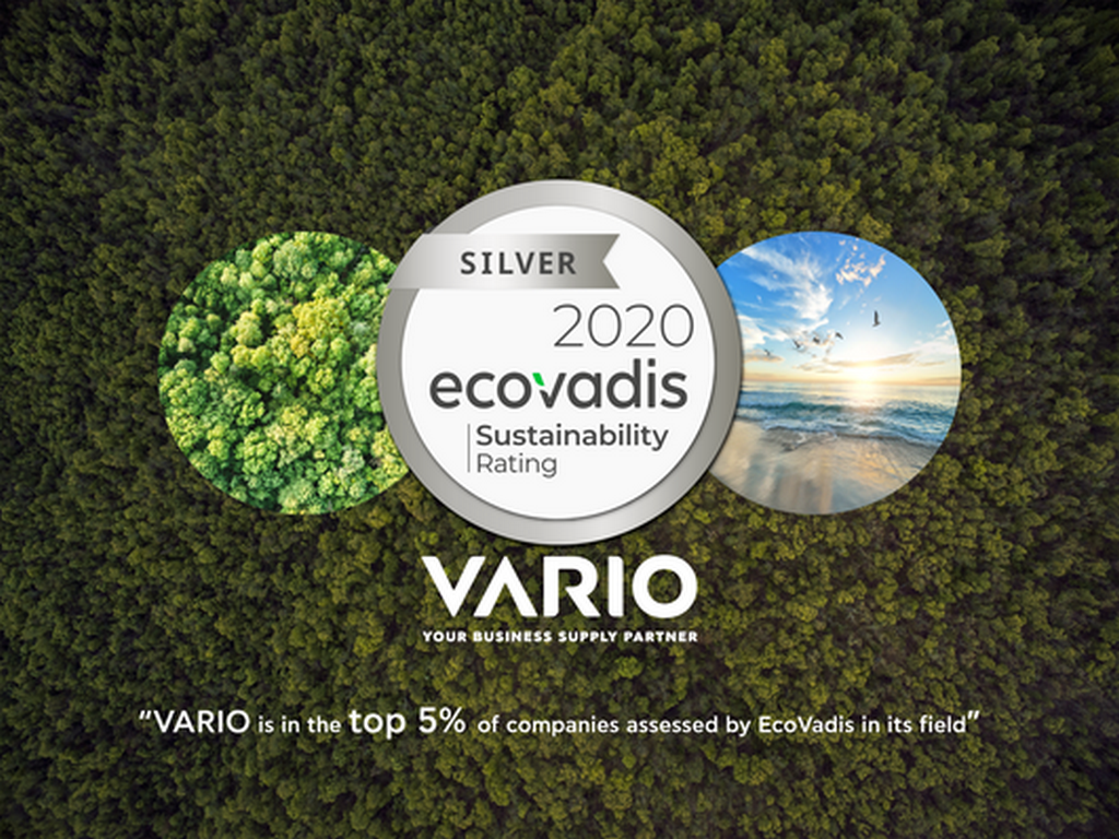 VARIO EcoVadis Award